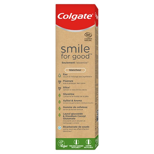 Dentifrice Smile for Good Blancheur